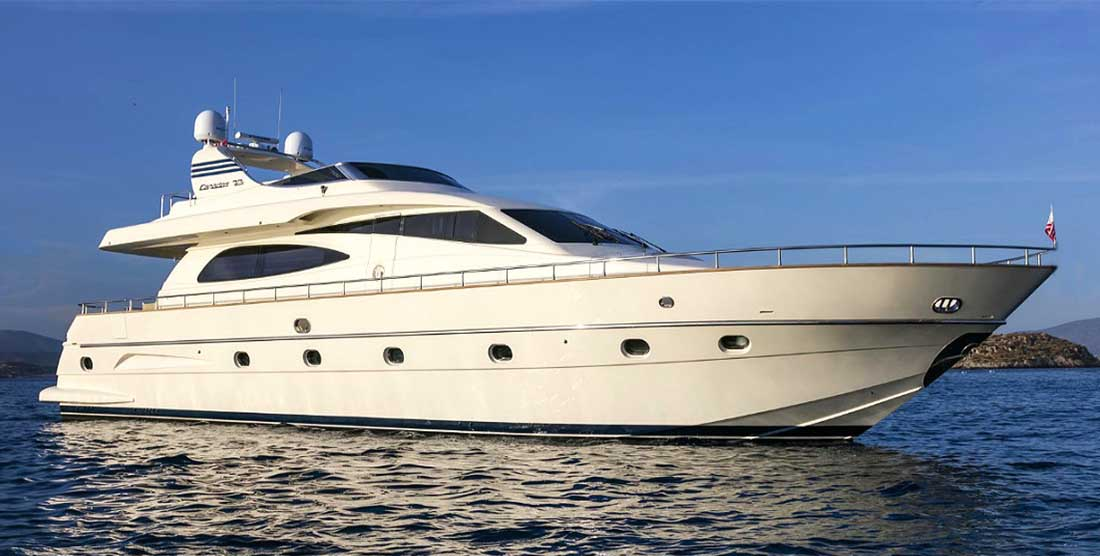 Motor Yacht GORGEOUS - Luxury Yachts Charter Greece - HELLAS YACHTING