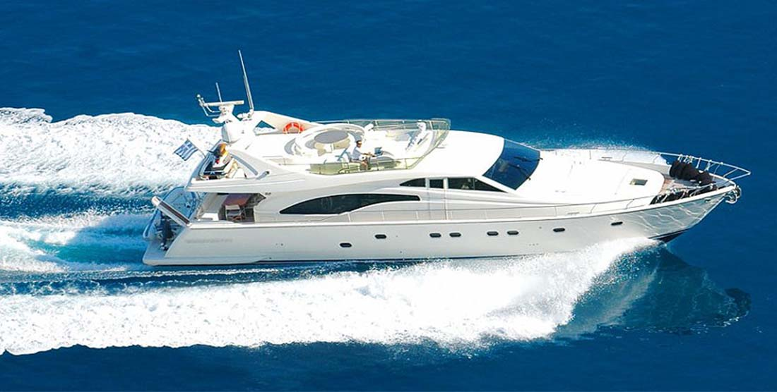 Motor Yacht ALEXANDROS - Luxury Yachts Charter Greece - Hellas Yachting