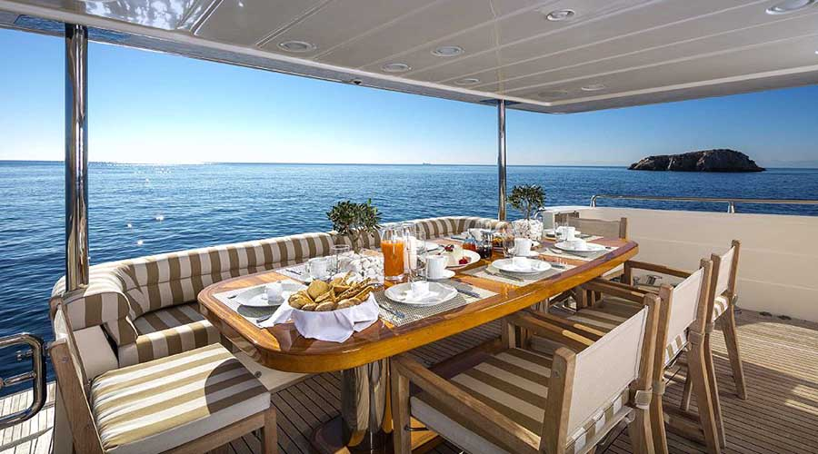 MYTHOS - Charter Motor Yacht Greece - HELLAS YACHTING