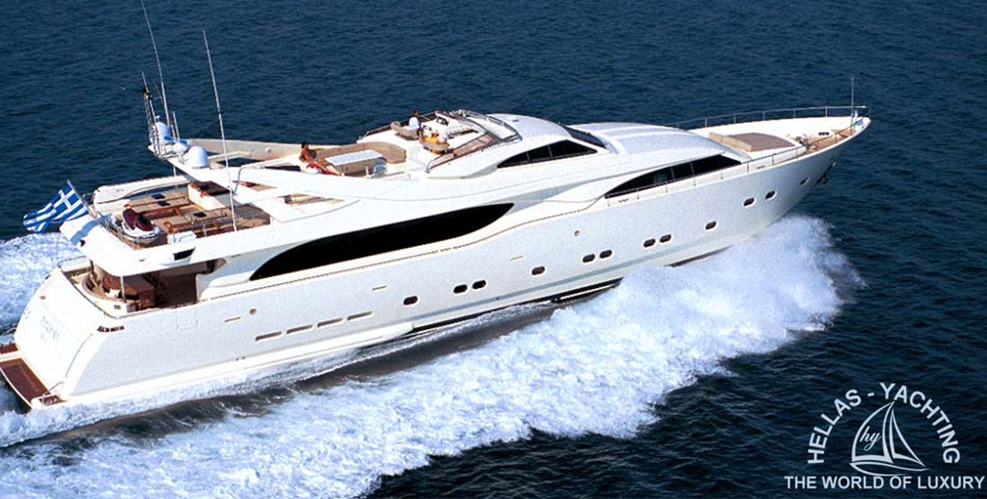 PANDORA - Luxury Motor Yacht Charter Greece - HELLAS YACHTING
