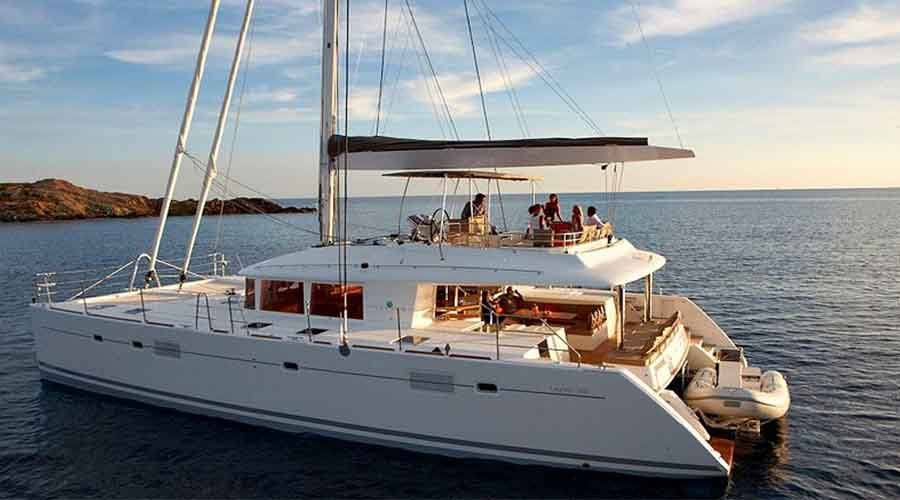 MOYA Crewed Catamaran Charter in Greece - HELLAS YACHTING