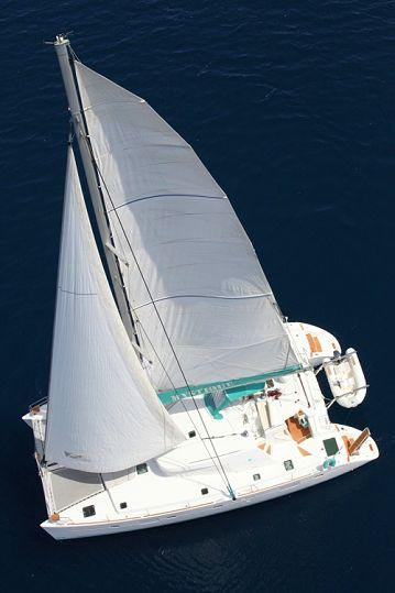 MYSTIQUE - Crewed Catamaran for Charter in Greece - Hellas Yachting