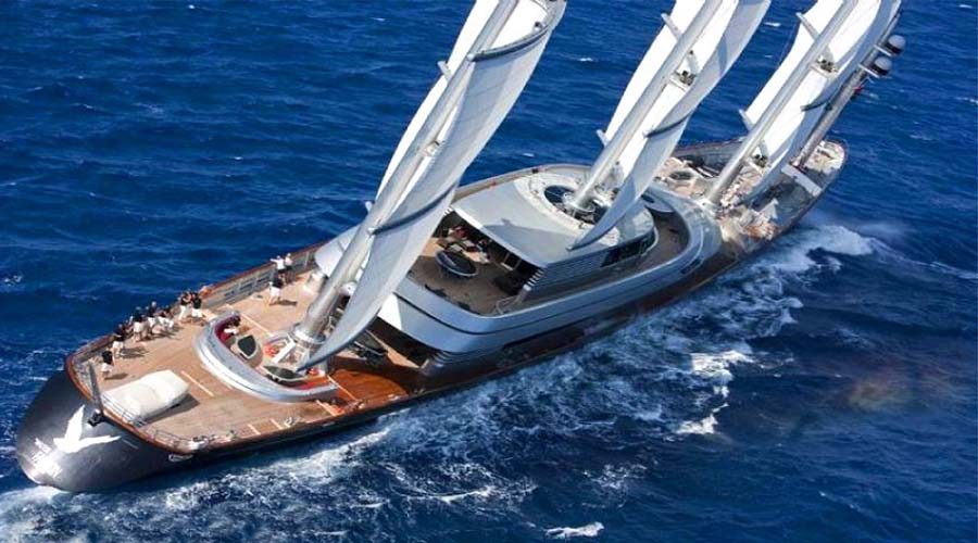 THE MALTESE FALCON - Sailing Yacht in Greece - HELLAS YACHTING