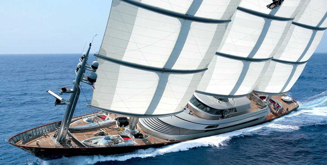 THE MALTESE FALCON - Mega Yacht Charter in Greece and Mediterranean - HELLAS YACHTING
