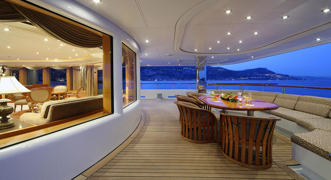 CAPRI I - Super Yacht Charters Greece and Monaco - HELLAS YACHTING