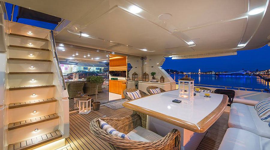 VENTO- Charter Motor Yacht in Greece - HELLAS YACHTING