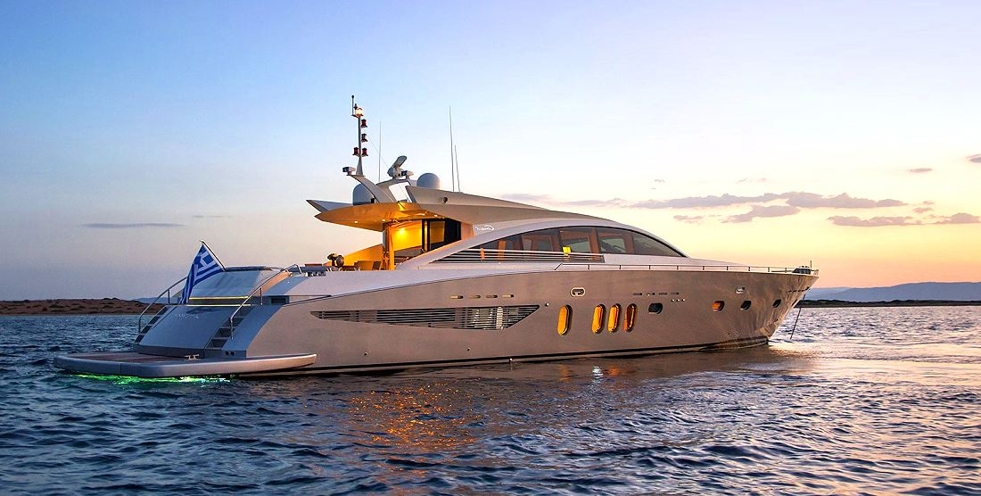 Motor Yacht SUN ANEMOS for Charter in Greece with HELLAS YACHTING
