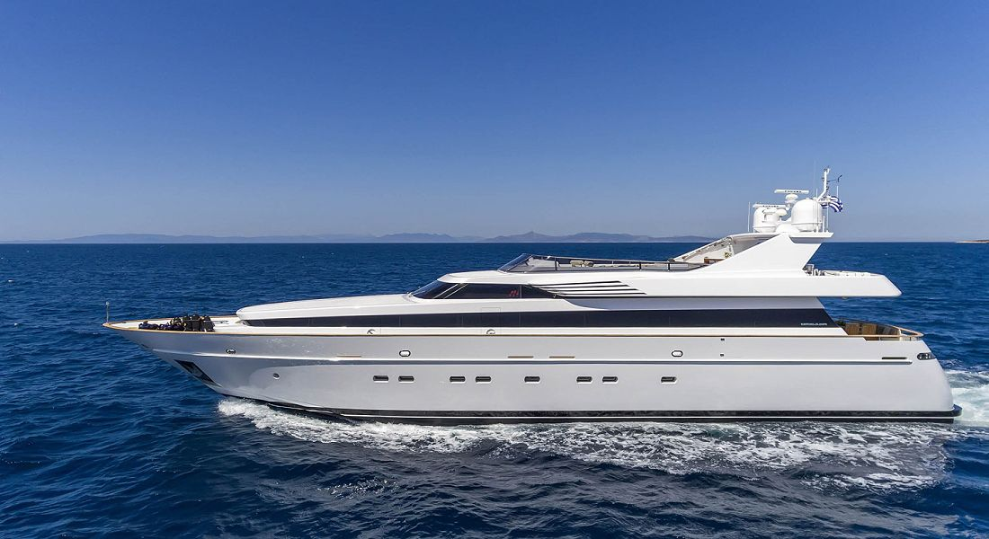 ALEXIA AV- Luxury Motor Yacht Charter Greece & Monaco HELLAS YACHTING