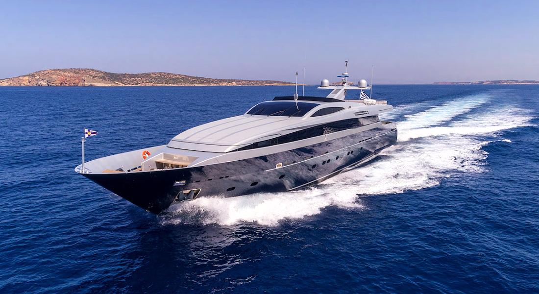 BILLA - Luxury Charter Motor Yacht in Greece - HELLAS YACHTING