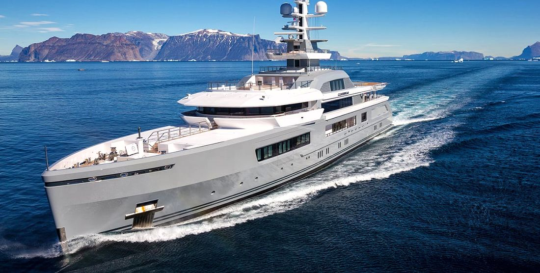 CLOUDBREAK - Super Charter Yacht in Greece & Monaco - HELLAS YACHTING