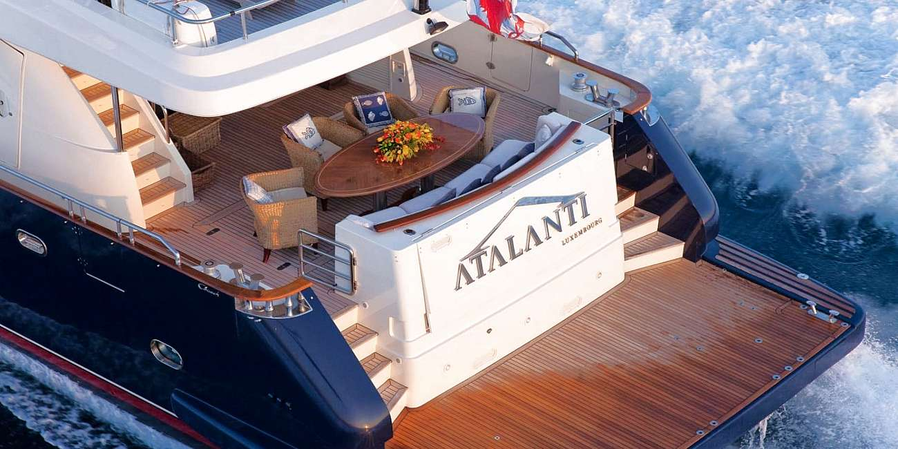 ATALANTI - Charter Motor Yacht in Greece - HELLAS YACHTING