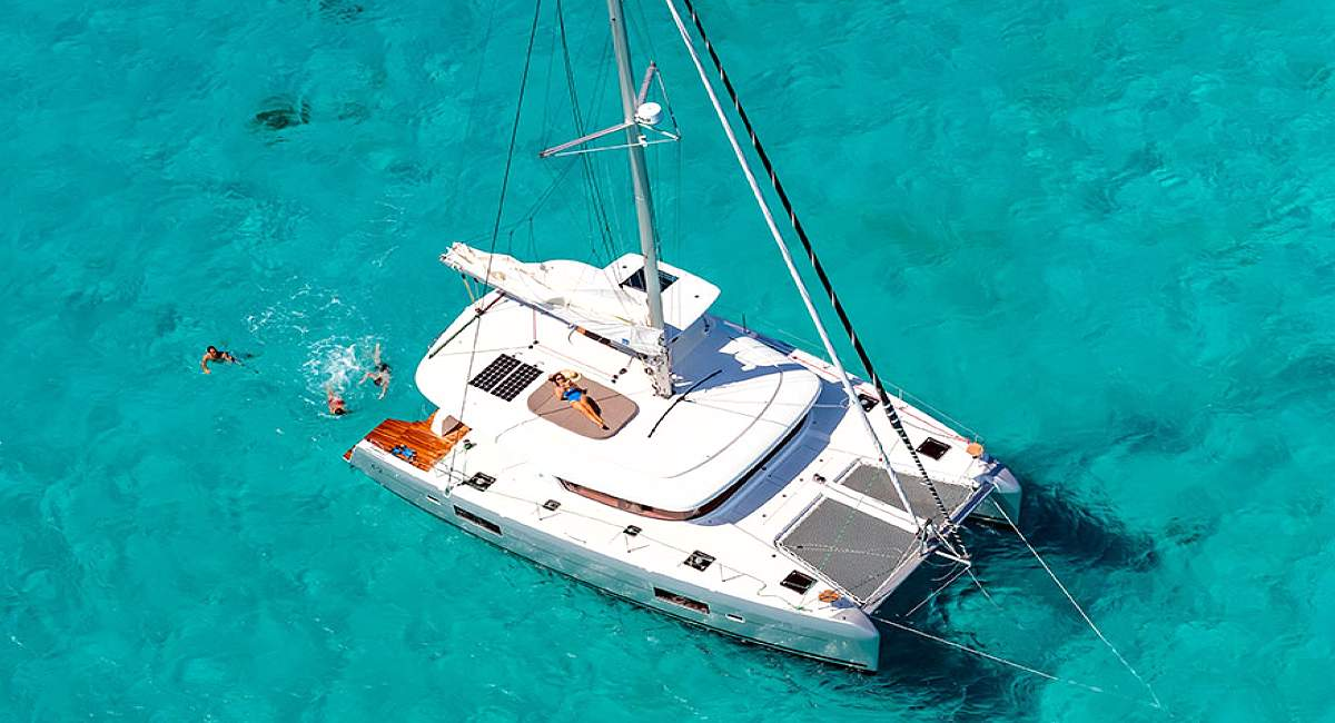 CLOUD 9 - Crewed Charter Catamaran Lagoon 42 - HELLAS YACHTING