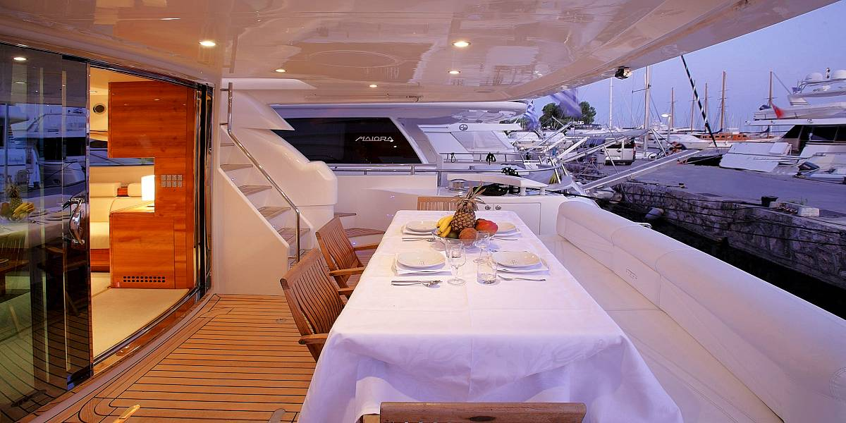 GEORGE V - Charter Motor Yacht in Greece - HELLAS YACHTING