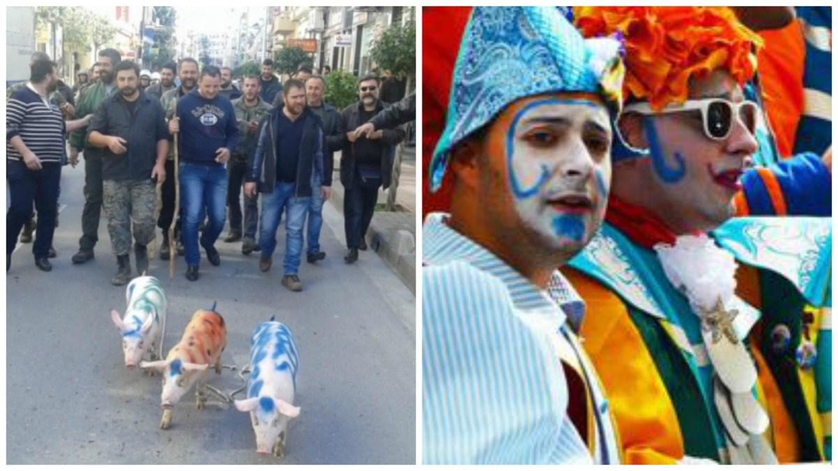 [:en]Carnival is here... literally and metaphorically! [:el]Ειμαστε για τα καρναβαλια, κυριολεκτικως και μεταφορικως![:]