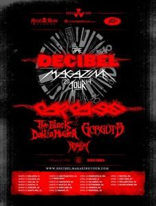 Decibel tour 2014