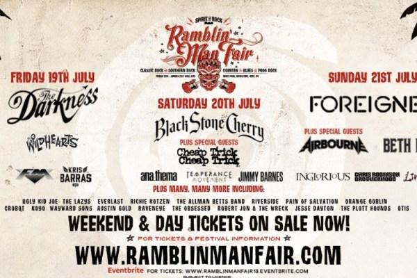Ramblin' Man Fair event poster