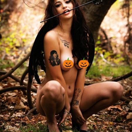 lauren michelle nude halloween