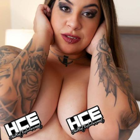 Angie Miranda 666 topless hellcat entertainment