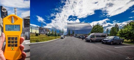 Parkplatz vor Block 4