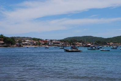 The habour in Buzios