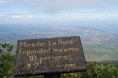 Viewpoint on Volcan Mombacho