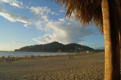 The beach in San Juan del Sur