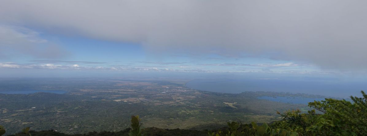 View from the top of volcan Mombacho