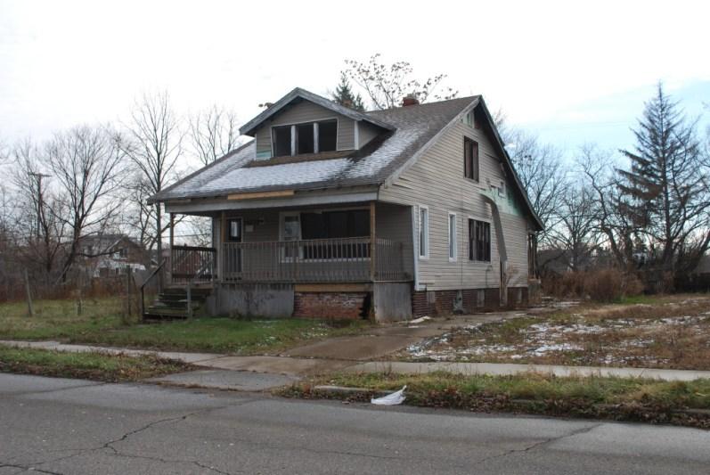 An abandoned house