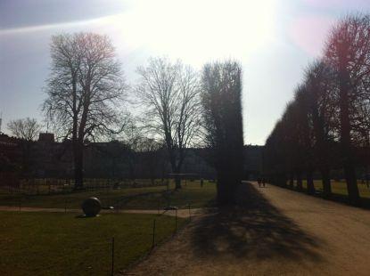 Kings Garden (Kongens Have), spring 2012