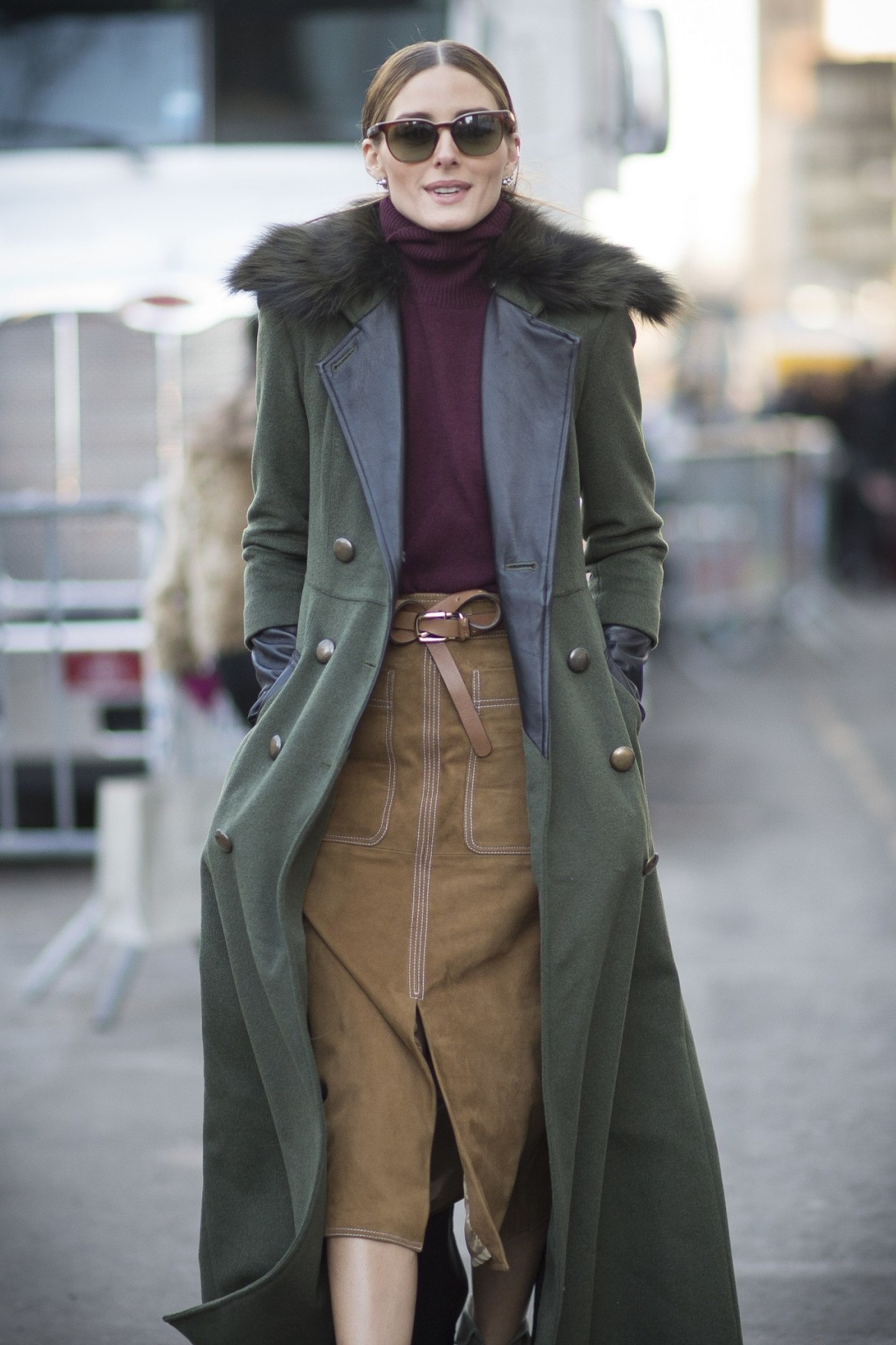 Dark-Colored-Turtleneck-Parka-Coat