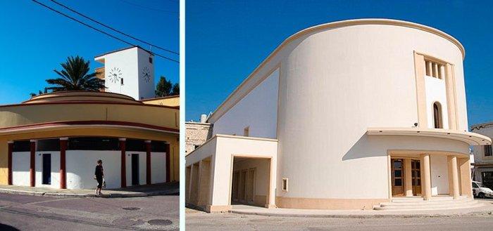 Λέρος, Αρχιτεκτονική