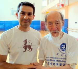 Master Duan Zhi Liang and I