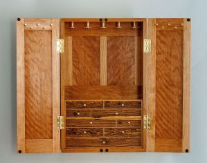 Lily of the Valley Jewelry Cabinet | Heller & Heller Furniture