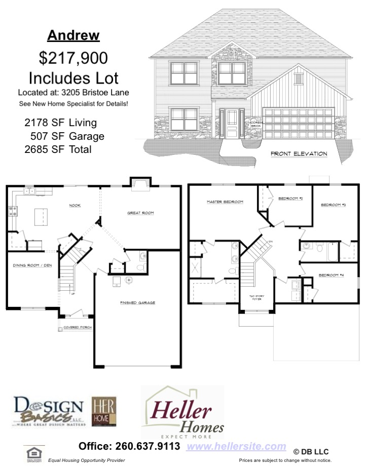 38 Bristoe Handout - Heller Homes' Andrew at 38 Bristoe Handout