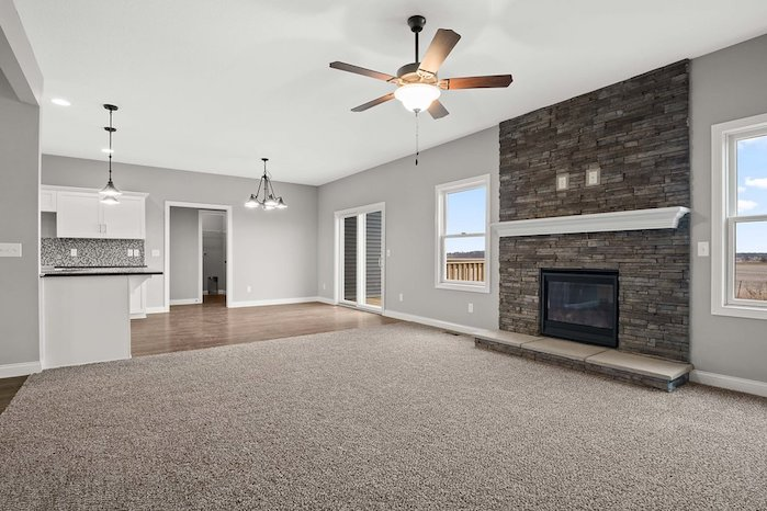 69 Prairie Meadows -- Heller Homes' William Floor Plan at 69 Prairie Meadows