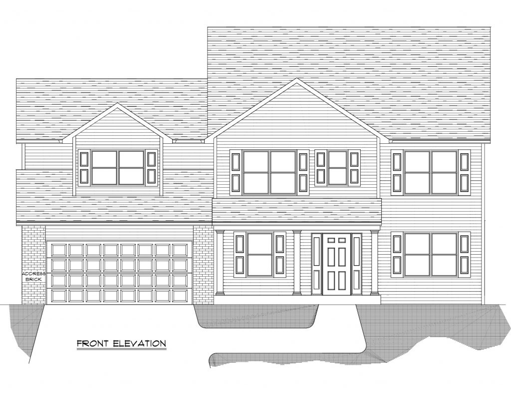 William 2 Floor Plan - Heller Homes base model William 2 floor plan