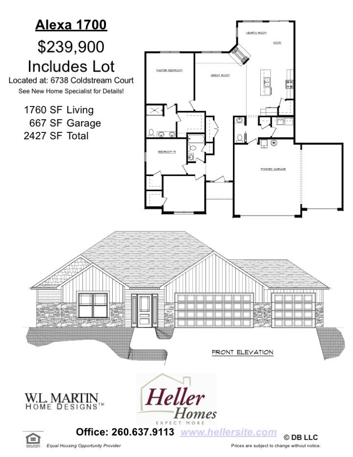 141 Valencia Handout - Heller Homes Available Home Alexa Floor Plan at 141 Valencia