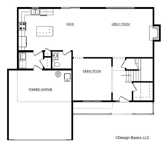 David Matthew 1 First Floor Layout - Heller Homes David Matthew 1 Floor Plan