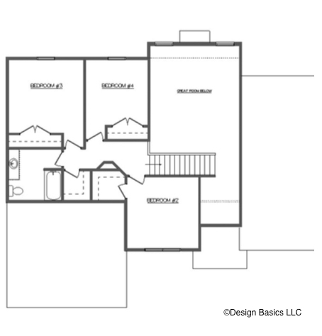 David Matthew 2 Floor Layout - Heller Homes David Matthew 2 Second Floor Plan