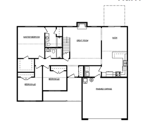 Harrison Floor Layout - Heller Homes Harrison First Floor Plan