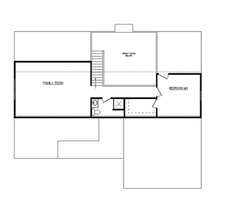 Harrison Floor Layout - Heller Homes Harrison Second Floor Plan