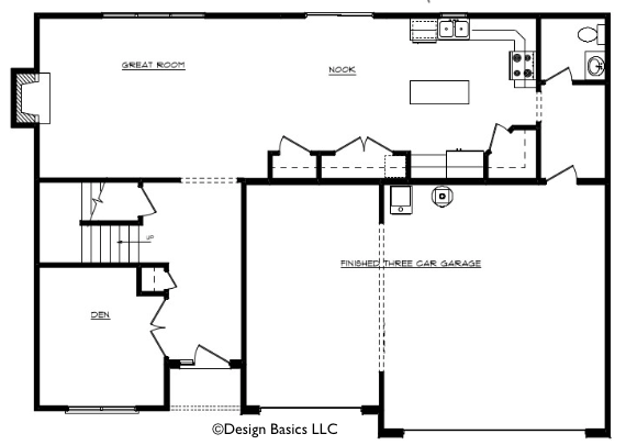 Raelynn Floor Layout - Heller Homes Raelynn First Floor Plan