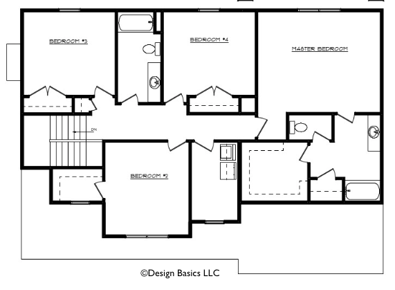Raelynn Floor Layout - Heller Homes Raelynn Second Floor Plan