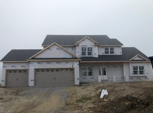 Heller Homes Available Homes - A picture our Lot 62 Prairie Meadows David Matthew 1.5 Master Down Floor Plan