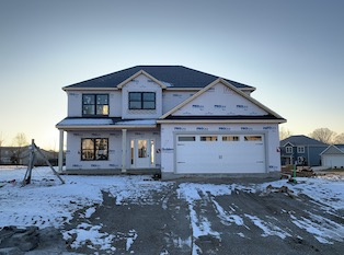 Heller Homes Available Homes - A picture our Lot 17 Lone Oak Andrew