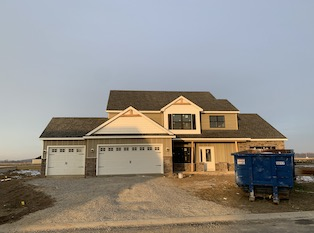 Heller Homes Available Homes - A picture our Lot 22 Cobble Creek