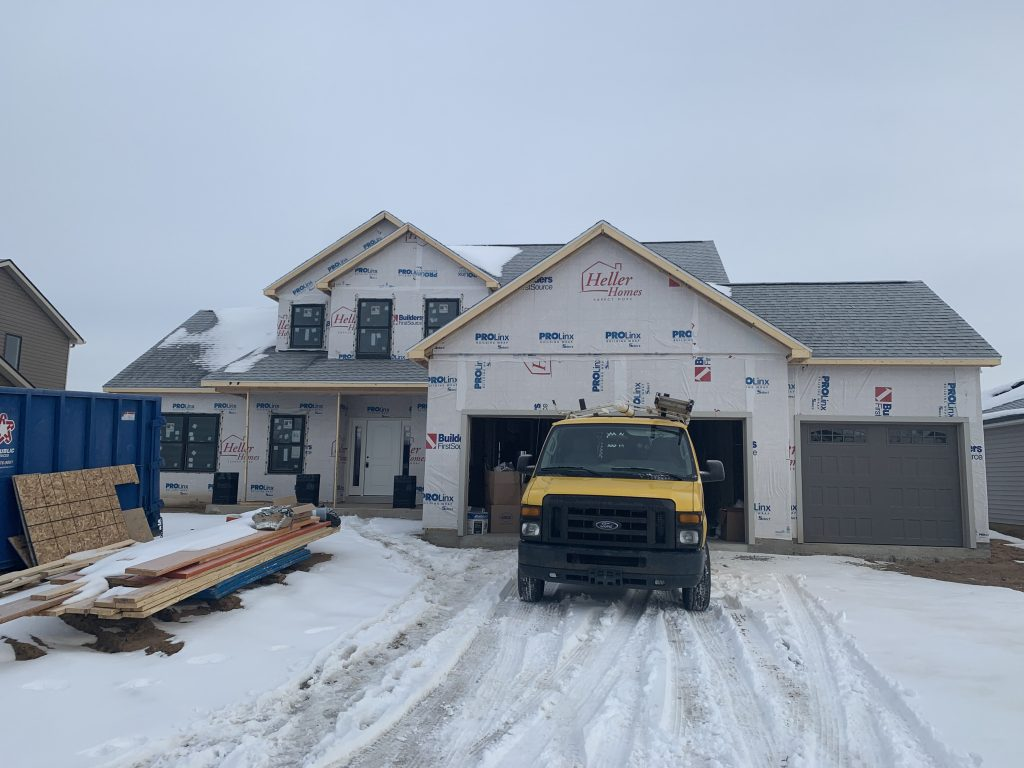Heller Homes Available Homes - A picture our Lot 45 Rolling Oaks David Matthew 3