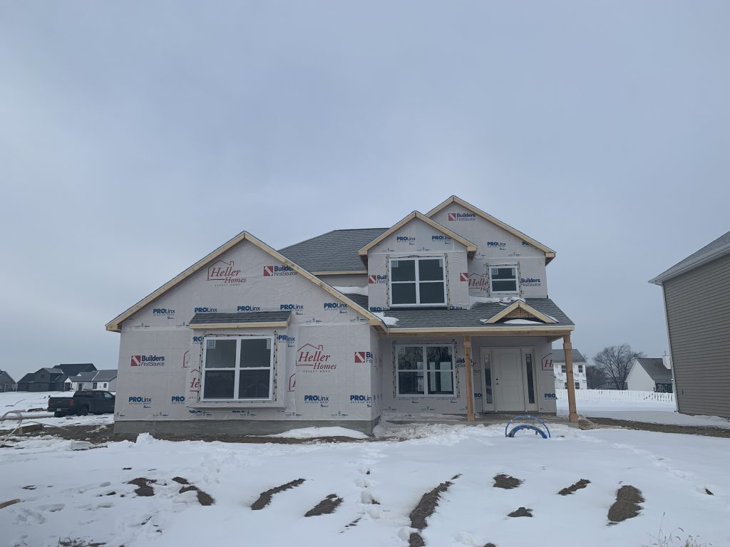 Heller Homes Available Homes - A picture our Lot 7 Rolling Oaks Henry
