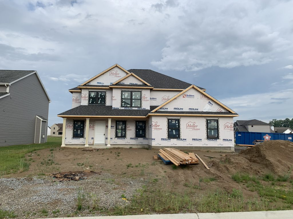 Heller Homes Available Homes - A picture our Lot 33 Rolling Oaks David Matthew 1.5