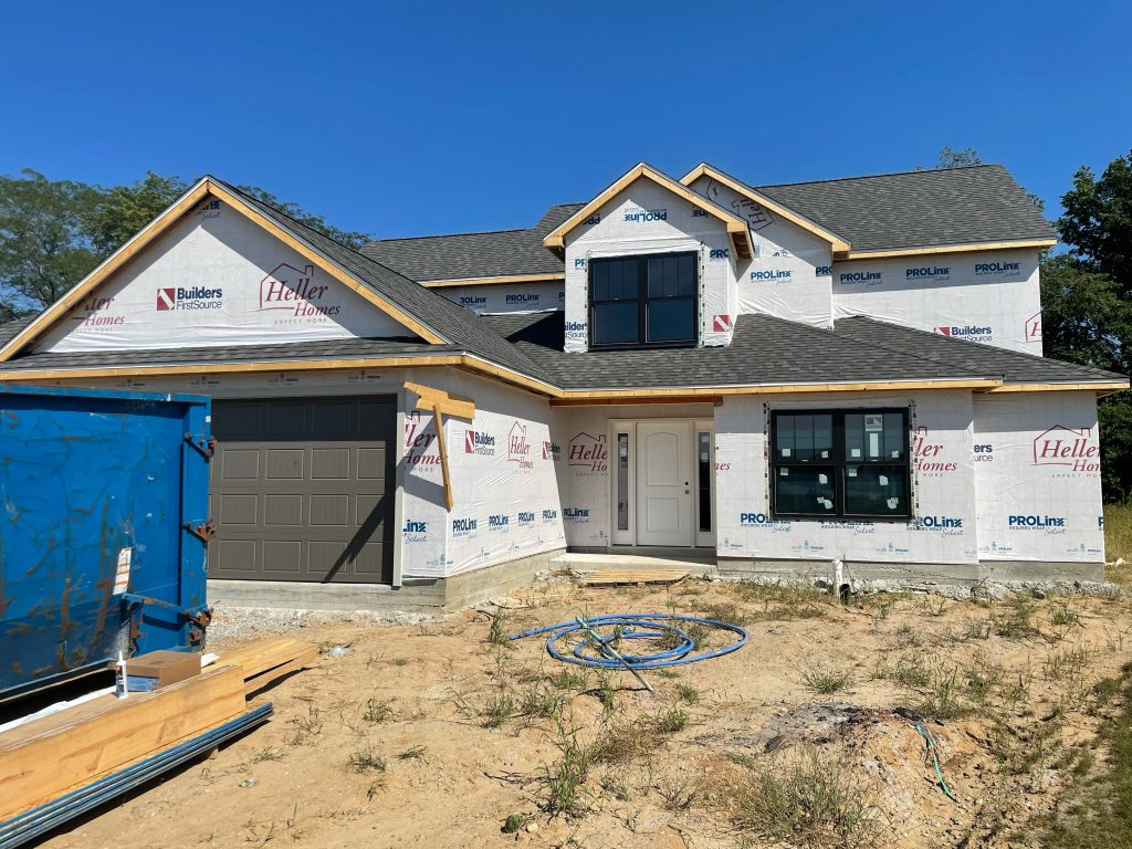 Heller Homes Available Homes - A picture our Lot 27 Rolling Oaks Isabelle
